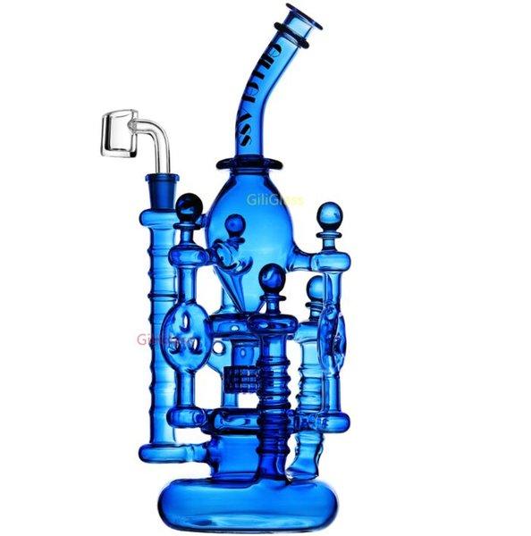 Gili-046 blau mit Quarz bangen