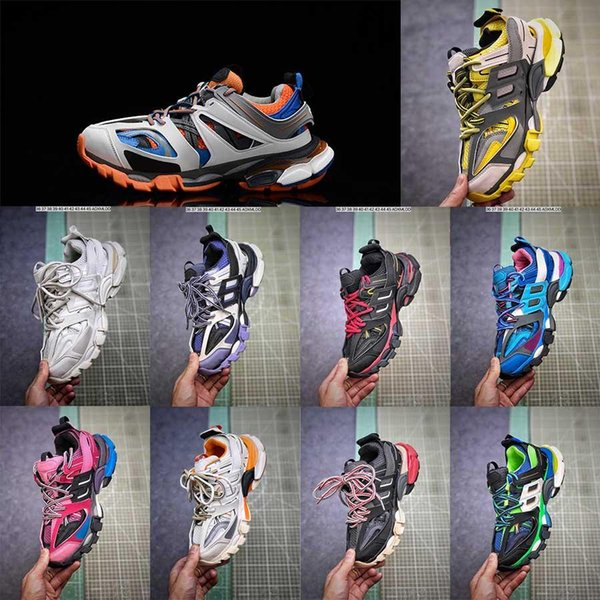 top popular zapatos speed balanciaga triple s clear sole sneakers track 3.0 classic men womens shoes designers hommes chaussures trainers tripler AmOt# 2020
