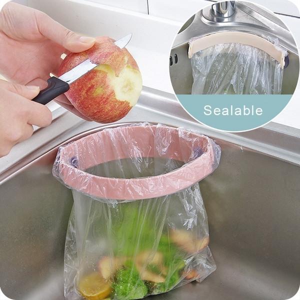 best selling Kitchen Organizer Sink Garbage Bag Holder Organizer and Storage Rack Dish Drainer Garbage Bag Trash Bags