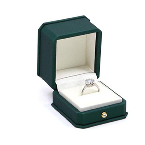 Caja del anillo ROJO