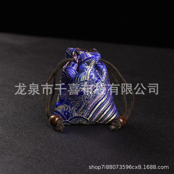 Xiangyun azul 7x8-backs bolso