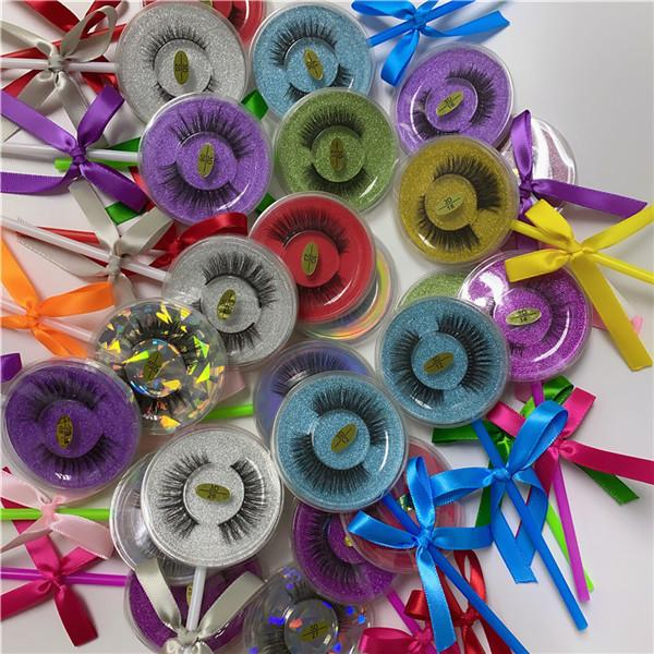 Lollipop lashes mix styles