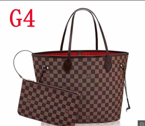 G4 --- set di 2 pezzi marrone reticolo