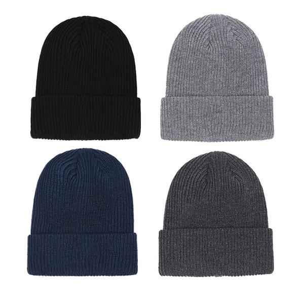 best selling Hot Unisex Beanies Knit Hat Autumn Winter Outdoor Men Knitted Hat Hip-hop Embroidery Badge Skullies Warm Man Sport Gorros Women Knitwear Cap