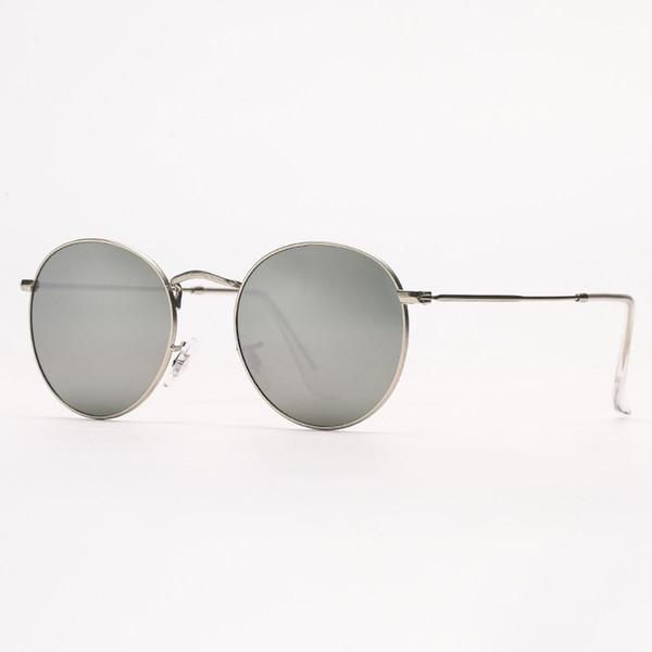 miroir argenté / argent