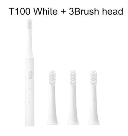 White +3 Brush head