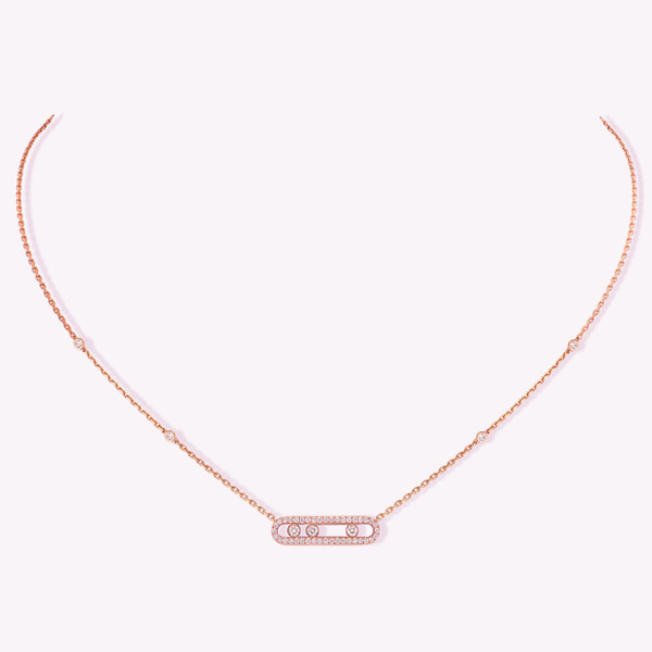 Rose Gold Necklace-925 Silver5