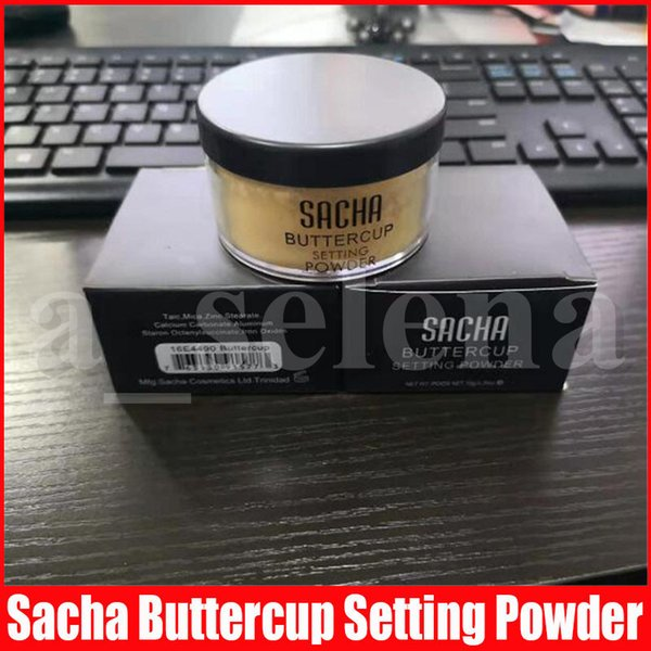 top popular New Loose Powder SACHA BUTTERCUP POWDER Oil-control Brightens Makeup POWDER 26g 2021