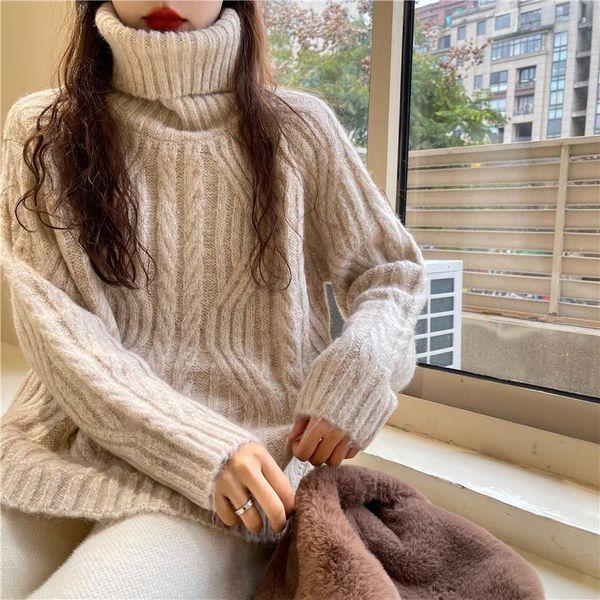 Suéter de albaricoque cálido