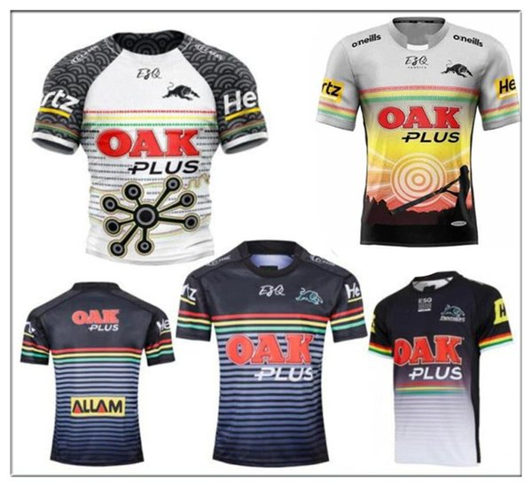 best selling 2019 Penrith Panther Rugby Jerseys 2019 2020 Home Jersey Rugby rugby Australia shirts sport hot