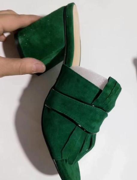 Гмодель # 2 Зеленая замша
