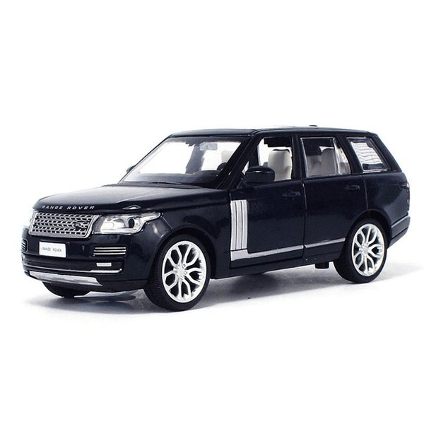 top popular 1:34 SUV Toy Vehicles Model Alloy Pull Back Children Toys Genuine License Collection Gift Simulation Off-Road Vehicle Kids Boy 2021