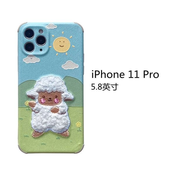 Iphone 11 Pro Embroidery Prairie Sheep