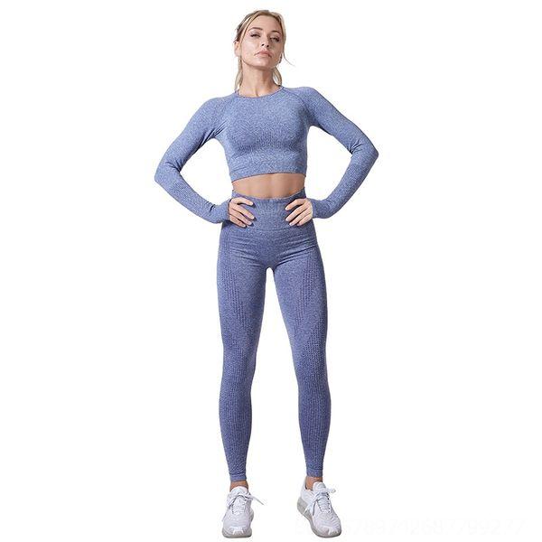 Серые синие брюки с длинными рукавами