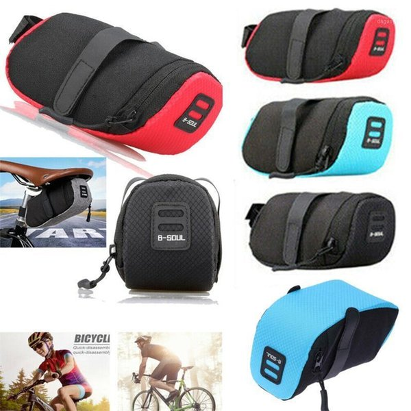 best selling Cycling Bags 2021 150*75*80mm Bike Bicycle Under Seat Storage Rear Tail Pouch Outdoor Accessories1