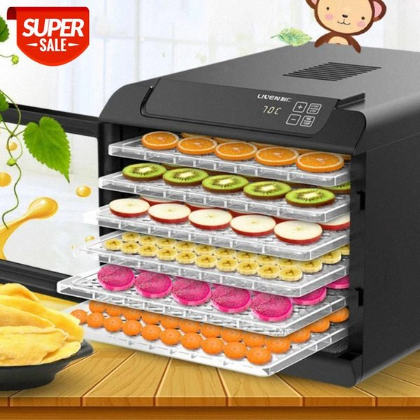 best selling 6 Layer Commercial home Professional Fruit Food Dryer Food Fruit Vegetable Pet Meat Air Dryer Electric Dehydrator #2341
