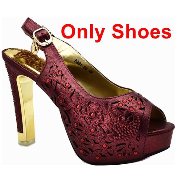 Vino solo scarpe