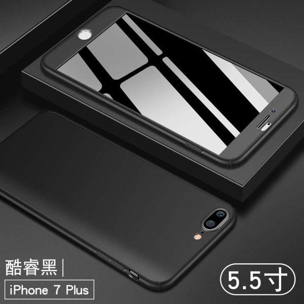 Apple 7/8 Plus Núcleo Black Entrega Filme temperado