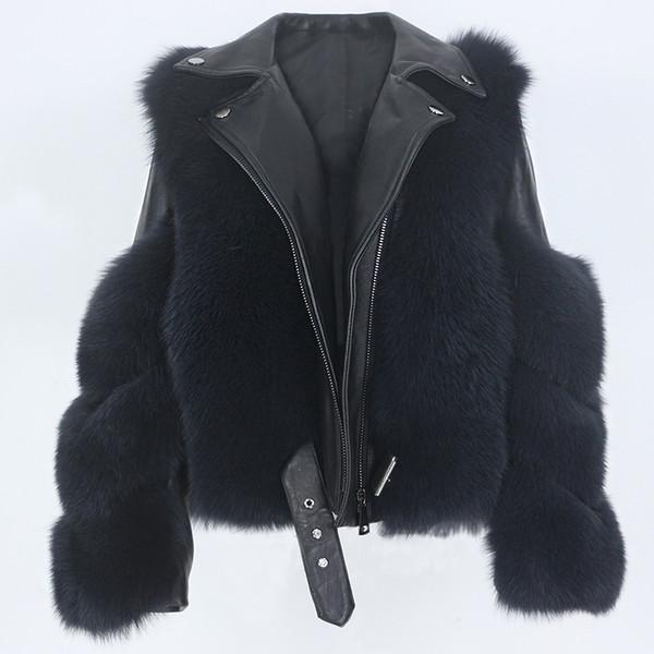 Abrigo gris oscuro