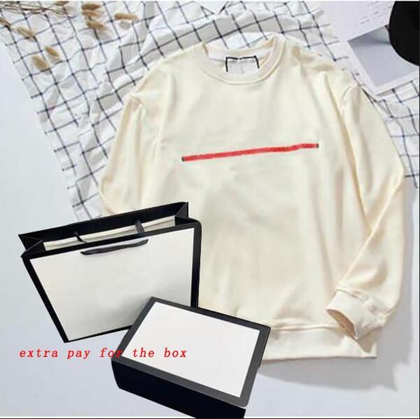 best selling 19fw Fashion Hoodie Men Women Pullovers Sweatshirt Mens Jumpers Letters printed Long Sleeve Hoodies Homme Clothes M-2XL