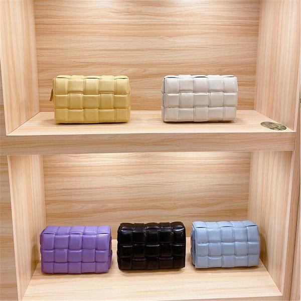 top popular 2020 New Designer leather messenger bags Pillow bag cross body bag Fashion Woven Women bags casual luxury woman handbag wallet shoulder bag 2020