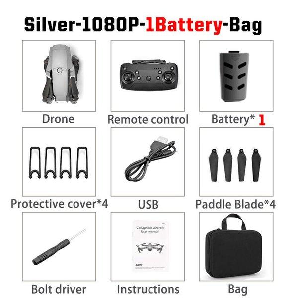 Sliver 1080P 1B Bag