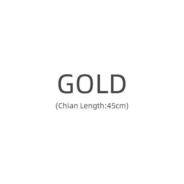 Gold 45 cm.