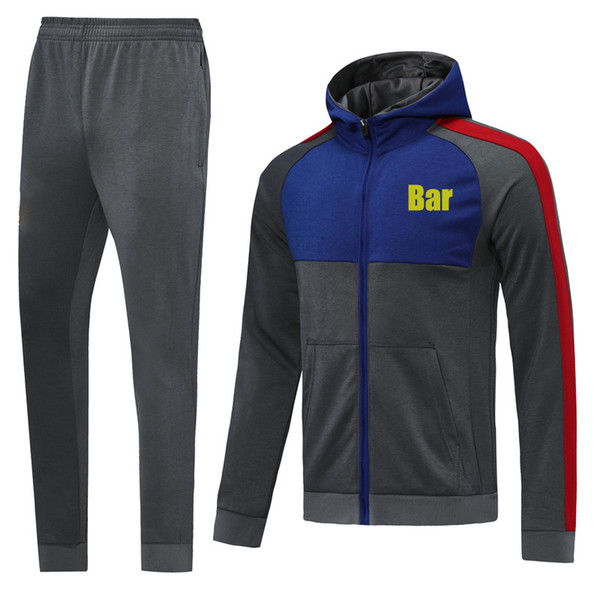 Bar Gray 2021 Hoodies Jacket