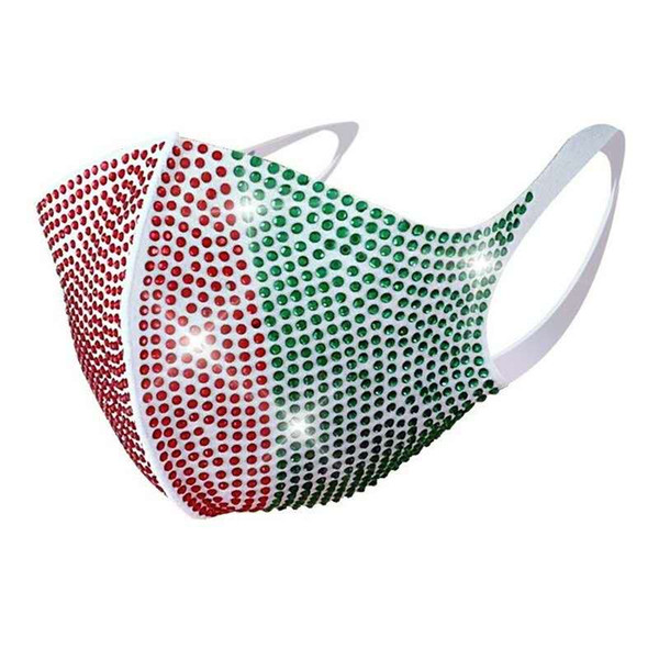 # 19 rote und grüne White Mask