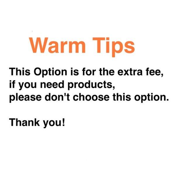 Zusätzliche Gebühren zahlen pls diese Option nicht