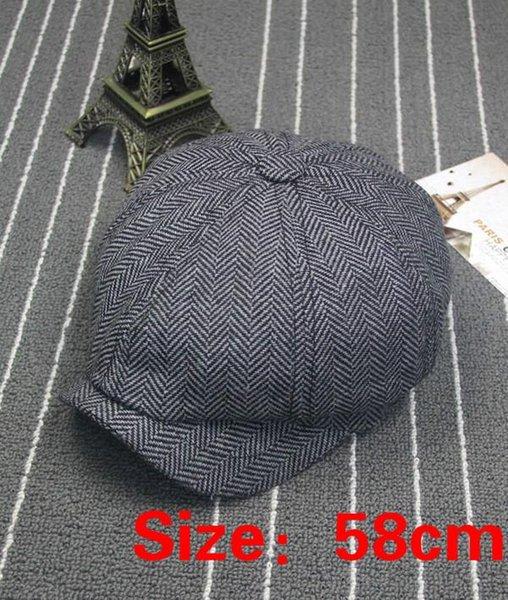 siyah, gri 58cm