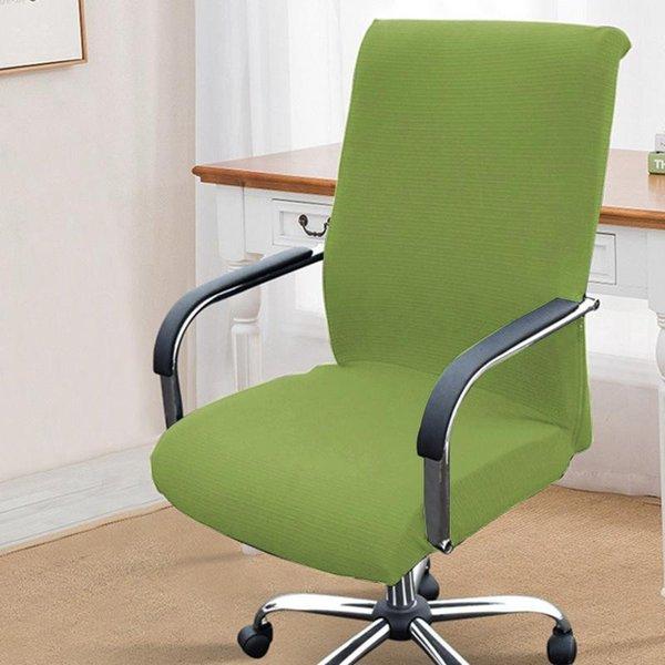 cubierta de silla verde