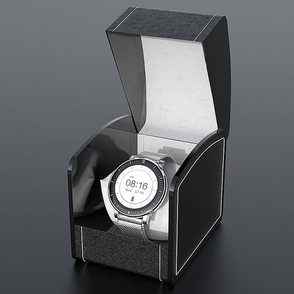 黑色 礼盒 款 银色 钢带 【收藏 加 购 送 原装 表带, 联系 客服 极速 发货】