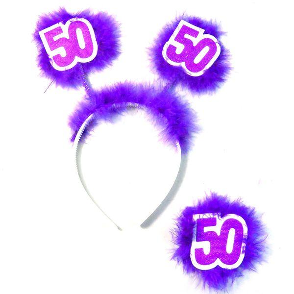 6set Pur50headbandbadge