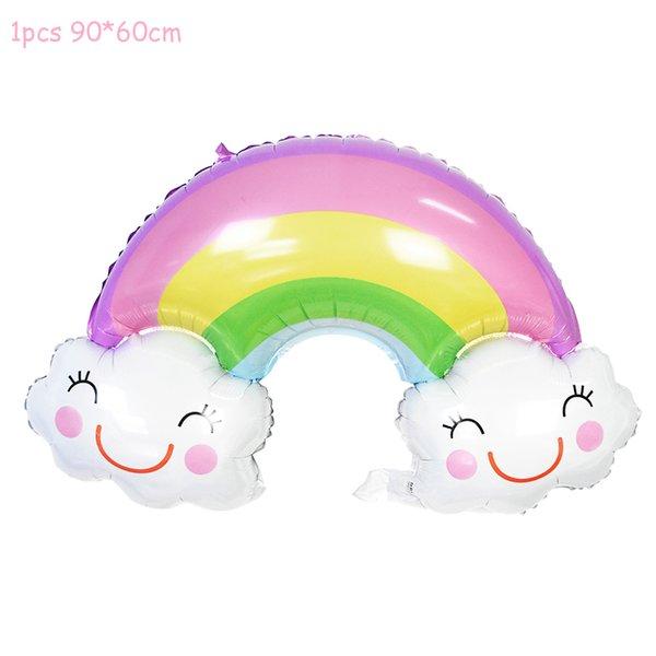 1pcs Rainbow Balloon