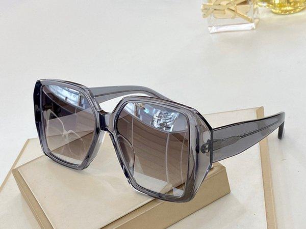 Temizle Gri Çerçeve Gümüş Ayna Lens