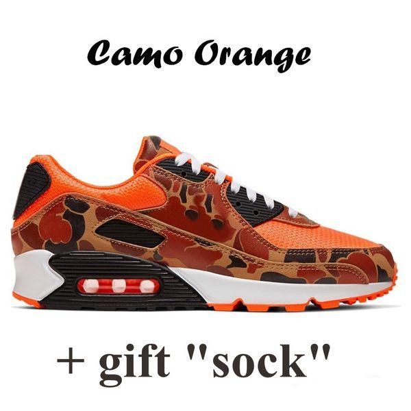 9 Camo Orange