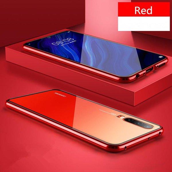Красное двойное стекло