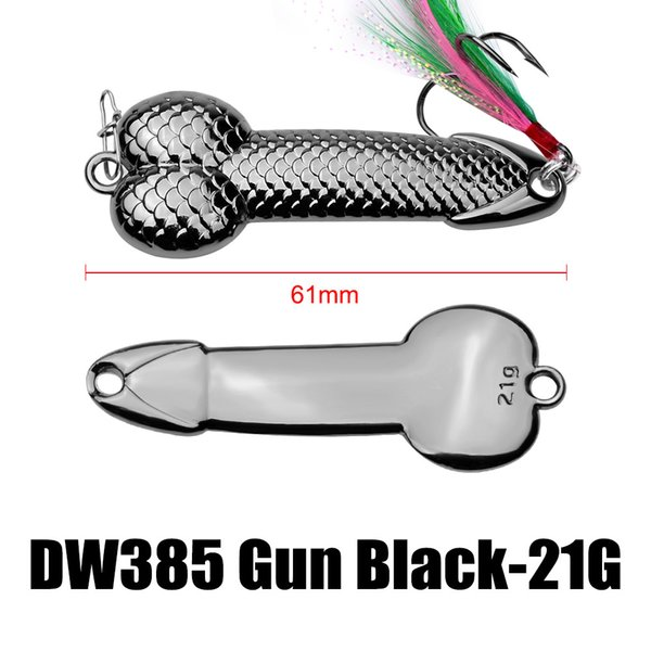 61mm 21g - Gun Black
