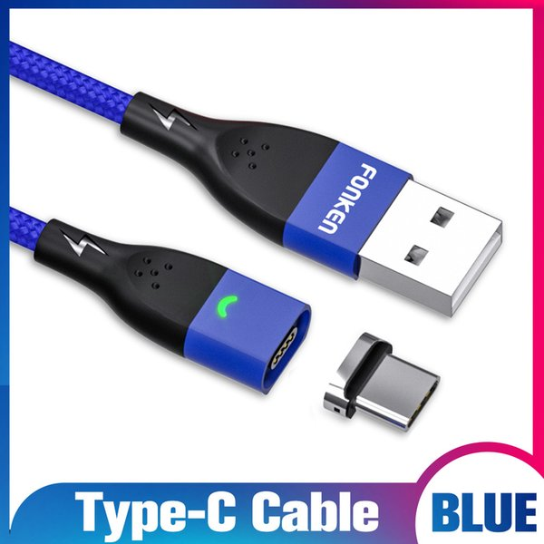 Blue Type c Cable