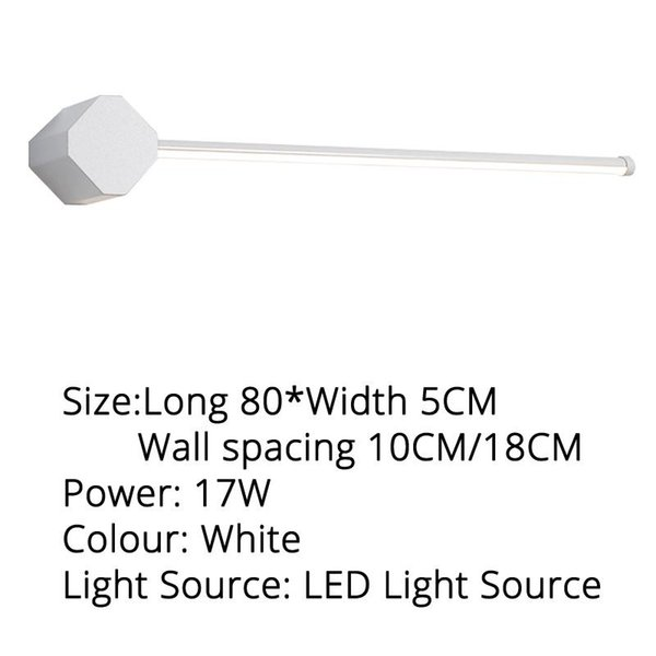 Blanco 80x5cm blanco cálido