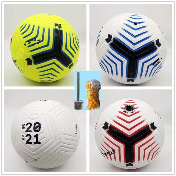 best selling Club League 5 balls 2020 2021 soccer Ball Size 5 high-grade nice match liga premer Finals 20 21 football balls (Ship the balls without air)