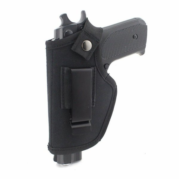 top popular gun Nylon holster is a concealed carrying holster with IWB OWB depth, suitable for left and right hand drawing, suitable for small pistols 2021
