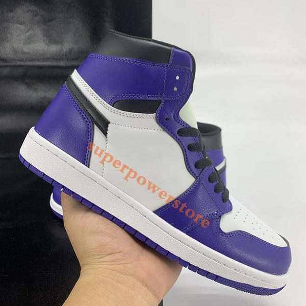 blanco púrpura de tenis