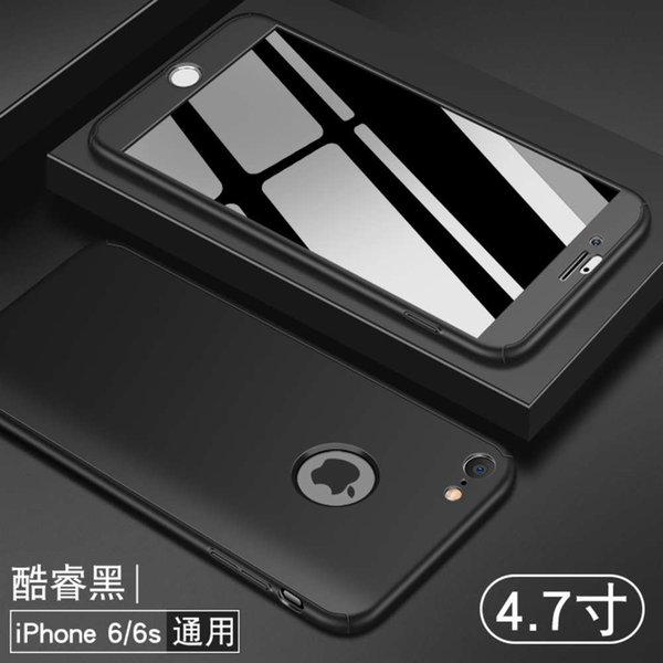 6 / 6s núcleo preto x (etiqueta exposta) Enviar filme temperado