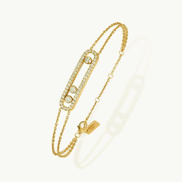 Bracelet-925 Gold Silver