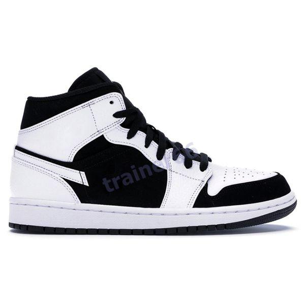 24 mid weiß schwarz