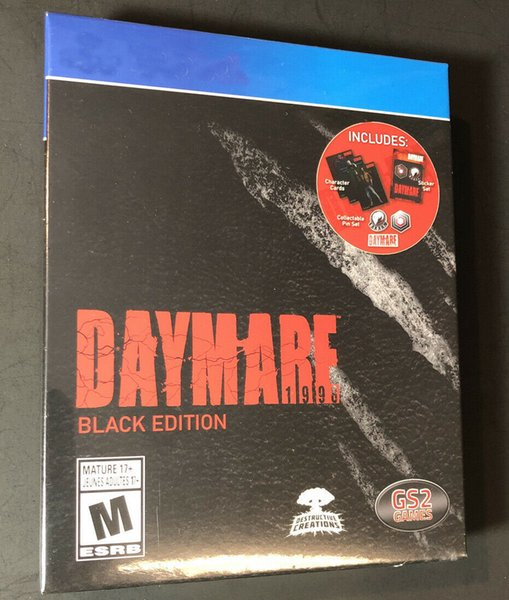 best selling 2020 hot sale factory sealed video games Day Mare 1998 Black Edtion Free shipping
