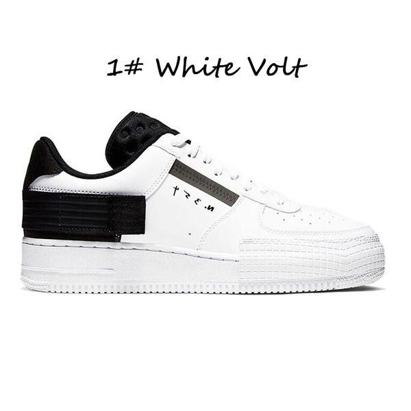 # 1 voltio blanco