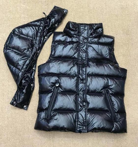top popular Hot Sale Mens Down Vest Parkas with Letters Winter Designer Vest for Men Women Couple Classic Badge Jackets Casual Vests Coat 2 Styles 2020